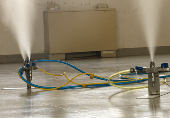 Pure Maintenance Mold Kill Dry Foggers fogging a room; Pure Maintenance Nebraska
